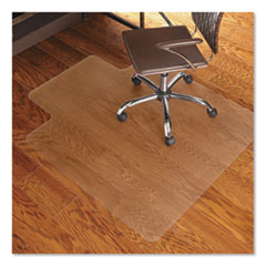 Economy Series Chair Mat for Hard Floors, 45 x 53, Clear