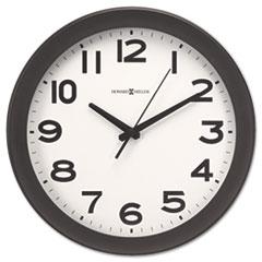 """Kenwick Wall Clock, 13-1/2"""", Black MIL625485"""