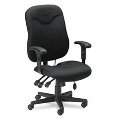 Comfort Series Executive Posture Chair, Black Fabric