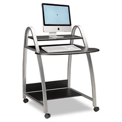"Mayline ""Eastwinds Arch Computer Cart, 31-1/2w x 34-1/2d x 37h, Anthracite"" at Sears.com"