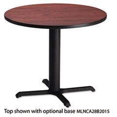 "Bistro Series 30"" Round Laminate Table Top, Mahogany MLNCA30RTRMH"