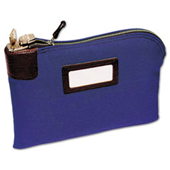 SEVEN-PIN SECURITY/NIGHT DEPOSIT BAG, TWO KEYS,COTTON