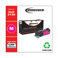 3,000 Pages 331-0717 Inksters Compatible Toner Cartidge Replacement for Dell 2150//2155 Replaces OEM # 2Y3CM Magenta
