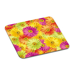 "Mouse Pad with Precise Mousing Surface, 9"" x 8"" x 1/8"", Daisy Design"