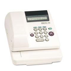 ELECTRONIC CHECKWRITER, 14-DIGIT, 7-7/8 X 9-5/8 X