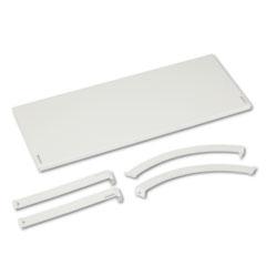Versé Panel System Hanging Shelf, 36w x 12-3/4d, Gray BSXVSH36GYGY