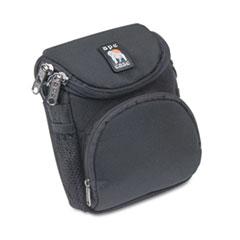 Camcorder/Digital Camera Case, Ballistic Nylon, 5 x 2 x 4 1/2, Black