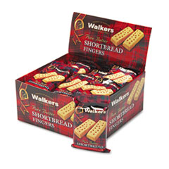 Shortbread Cookies, 2/Pack, 24 Packs/Box