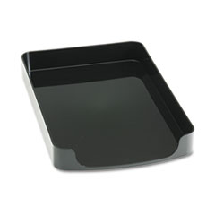 2200 Series Front-Loading Desk Tray, Plastic, 8 1/2 x 14, Black
