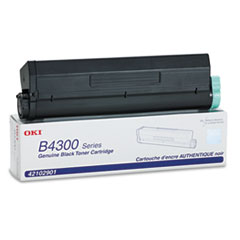 42102901 High-Yield Toner, 6000 Page-Yield, Black