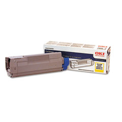 43324417 Toner, 5000 Page-Yield, Yellow