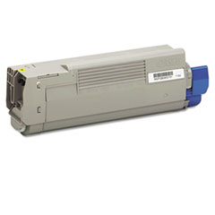 43865717 High-Yield Toner, 8000 Page-Yield, Yellow