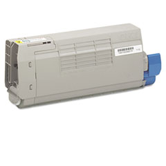 43866101 Toner, 11500 Page-Yield, Yellow