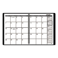 Monthly Planner, Black, 6 7/8