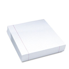Composition Paper, 16 lbs., 8-1/2 x 11, White, 500 Sheets/Pack