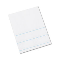 Composition Paper, 16 lbs., 4 x 10-1/2, White, 500 Sheets/Pack