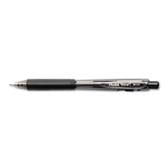 WOW! Retractable Ballpoint Pen, 1mm, Black Barrel/Ink, Dozen