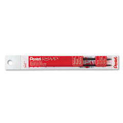 Refill for Pentel R.S.V.P. Ballpoint Pens, Medium, Red Ink, 2/Pack