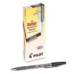 Better Ball Point Stick Pen, Black Ink, 1mm, Dozen