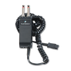 Modular Dual-Prong Plug Headset/Handset-To-Telephone Adapter