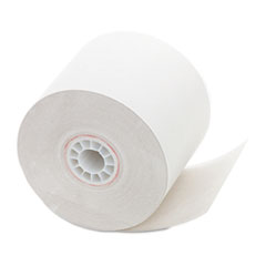"""One Ply Receipt Roll, 2 1/4"""" x 150 ft, White, 12/Pack"""