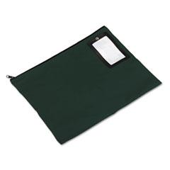 Flat Dark Green Transit Sack, 18w x 14h