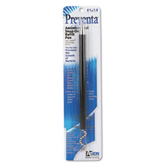 Snap-on Refill for Preventa Deluxe Counter Pen, Medium Pt., Black Ink