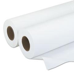 "Amerigo Wide-Format Paper, 20 lbs., 3"" Core, 30""x500 ft, White, 2/Carton"