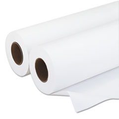 "Amerigo Wide-Format Paper, 20 lbs., 3"" Core, 36""x500 ft, White, 2/Carton"
