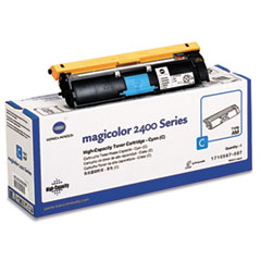 1710587007 High-Yield Toner, 4500 Page-Yield, Cyan