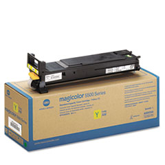 A06V233 High-Yield Toner, 12000 Page-Yield, Yellow KNMA06V233