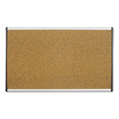 ARC Frame Cork Cubicle Board, 18 x 30, Tan, Aluminum Frame