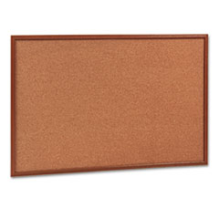 Cork Bulletin Board, 36 x 24, Oak Frame