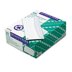 Business Envelope, #10, White, Recycled, 500/Box