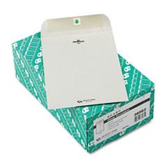Clasp Envelope, 6 1/2 x 9 1/2, 28lb, Executive Gray, 100/Box