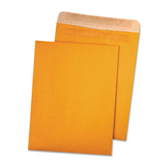 100% Recycled Brown Kraft Redi Seal Envelope, 9 x 12, Brown Kraft, 100/Box