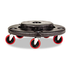 Brute Quiet Dolly, 250 lb Capacity, 18 1/4