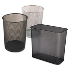 Steel_Mesh_Wastebasket_Rectangular_75gal_Black