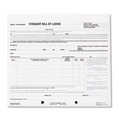 BILL OF LADING SHORT FORM,