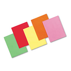 Array Colored Bond Paper, 24lb, 8-1/2 x 11, Assorted Brights, 500 Sheets/Ream