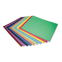 Peacock Four-Ply Railroad Board, 22 x 28, Assorted, 100/Carton