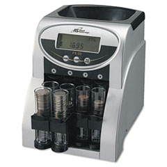 Fast Sort FS-2D Digital Coin Sorter, Pennies Through Quarters