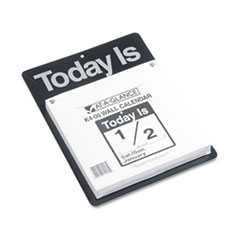 """Today Is"" Wall Calendar, 9 3/8 x 12, White, 2017"