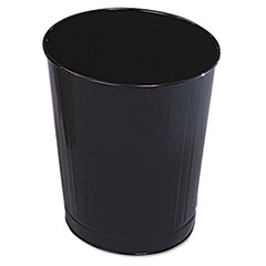 Rubbermaid Commercial Fire-Safe Steel Round Wastebaskets