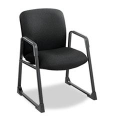 Uber Series Big & Tall Sled Base Guest Chair, Black SAF3492BL