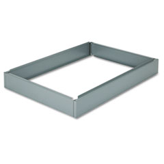 Base For Five-Drawer Stackable Steel Flat Files, 46-1/2w x 32-1/2d, Gray