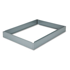 Base For Five-Drawer Stackable Steel Flat Files, 53-1/2w x 38-3/4d, Gray