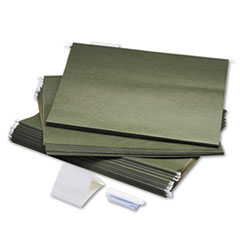 COU ** Hanging File Folders, Compressed Paper Fiber, 18 x 14, Green, 25/Box at Sears.com