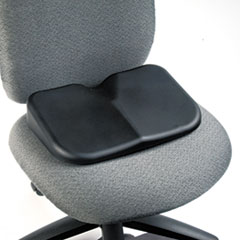 Softspot Seat Cushion, 15-1/2w x 10d x 3h, Black