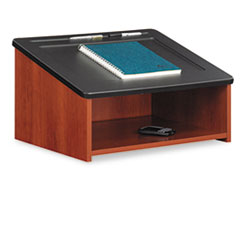 COU ** Tabletop Lectern, 24w x 18-1/2d x 13-3/4h, Cherry/Black at Sears.com